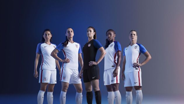 5827e2721dabf Nike US Women's National Team Jersey With Plunging Neck Line Causes Fan  Outrage