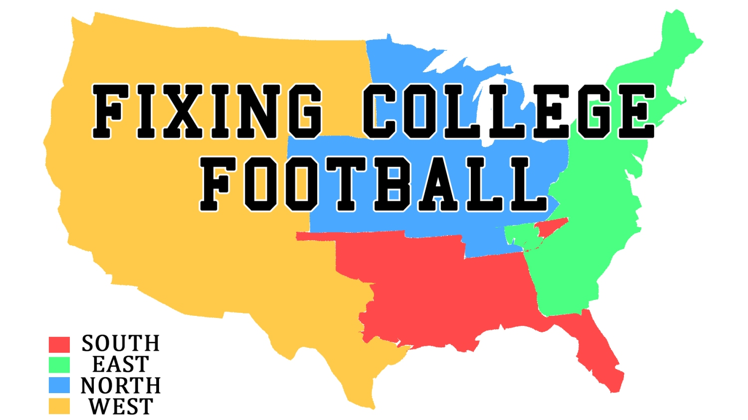 Improve College Football By Realigning Conferences And Adding Relegation